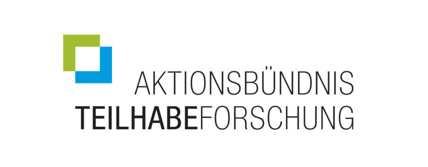 Logo Aktionsbündnis Teilhabeforschung